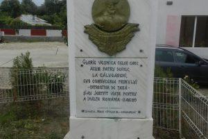 Паметник Михай Витязу, Кълугърен