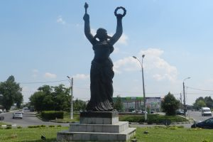 The Triumph Statue, Giurgiu