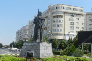 The Statue of Vlad Tepes, Giurgiu