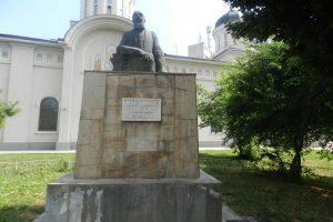 The Statue of Nicolae Iorga, Giurgiu