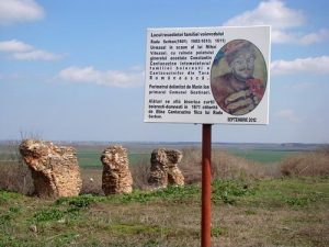 Ruinele Conacului Radu Șerban, Mironești