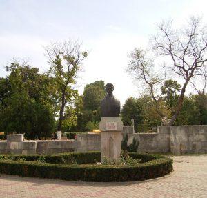 Бюстът на Василе Първан, Констанца
