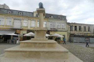 Статуята Вълчица, Констанца