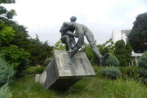 Monument Căderea de pe Soclu, Constanța