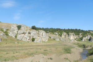 Dobrogea Gorges, County Road no. 222