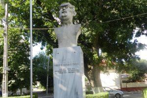 Bustul lui Eugen Cialîc, Călăraşi