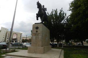 Statuia Carol I, Călărași