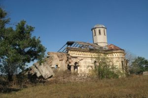 The Ruins of the Church in Fundeni, Frunzănești