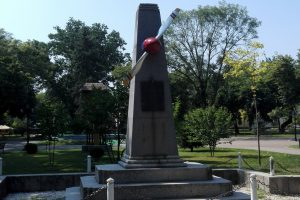The Monument of Petre Ivanovici, Băilești