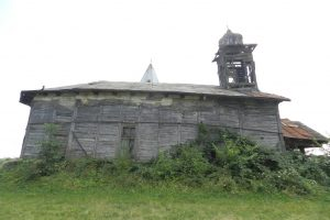 Saint Nicholas Wooden Church, Albulești
