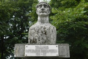 Bust of Traian – Traian Park, Drobeta Turnu Severin