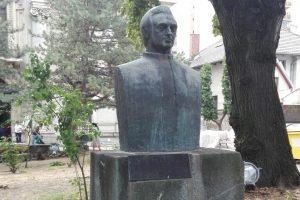 Bust of Gheorghe Anghel, Drobeta Turnu Severin