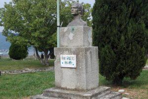 Statuie Mihai Eminescu, Orșova