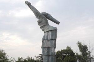 """Статуята """"Данубия"""", Оршова"""