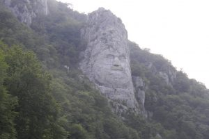 The Statue of Decebal, Orşova