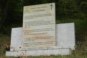 """Гробището """"Върчьорова"""", Върчьорова"""