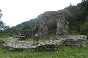 Ruinele Mănăstirii Vodița, Vodița
