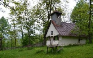 "The ""Saint Nicholas"" Wooden Church, Ponoarele"