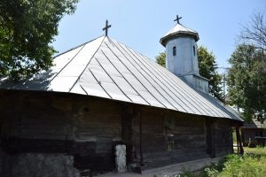 Saint Parascheva Wooden Church, Drăcești