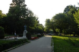 "The ""Constantin Poroineanu"" Park, Caracal"
