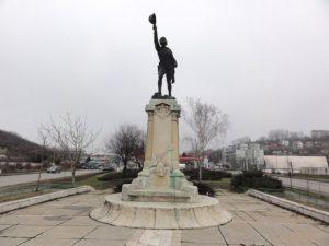 Statuie Ecaterina Teodoroiu, Slatina