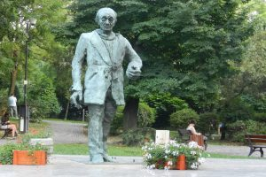 The Statue of Eugen Ionesco, Slatina
