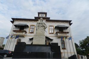 The Statue of Tudor Vladimirescu, Slatina