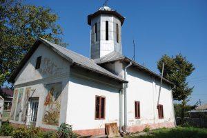 Biserica Sfinții Voievozi, Ulmi