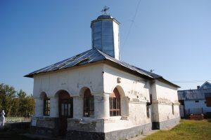 """Църквата """"Благочестива Параскива"""", Морунглав, Пояна Маре"""
