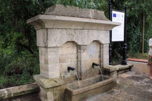 The Old Drinking Fountains, Kavarna