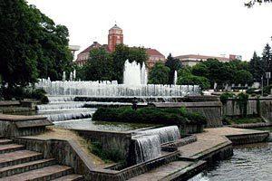 Fântânile Plevna, Pleven
