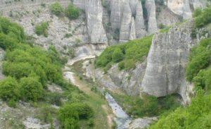 Canionul Ruchene, Reselets