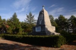 Russian monument of victory, the village Mechkul