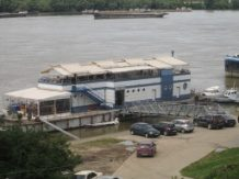 The restaurant floating pontoon, Ruse