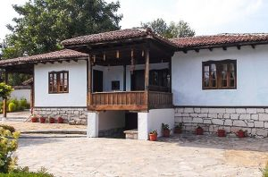 Dobruja  style house with an ethnographic exhibition Alfatar