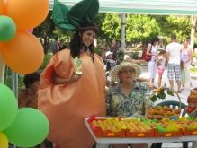 Festivalul de caise în Tutrakan