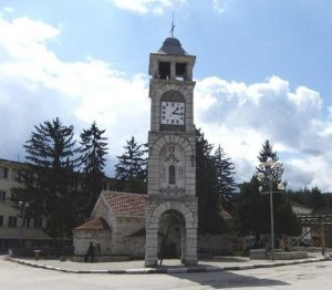 Clock Tower from the Village of Chuprene, Chuprene