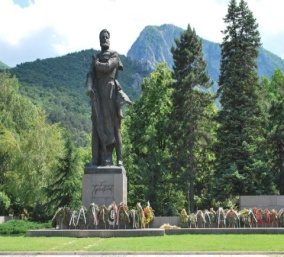 "The Monument of the National Hero ""Hristo Botev"", Vratsa"