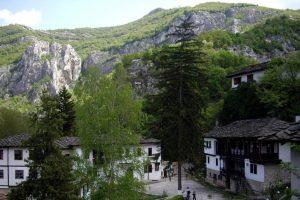 """Mănăstirea Cherepish """"Adormirea Maicii Domnului """", Vrața"""